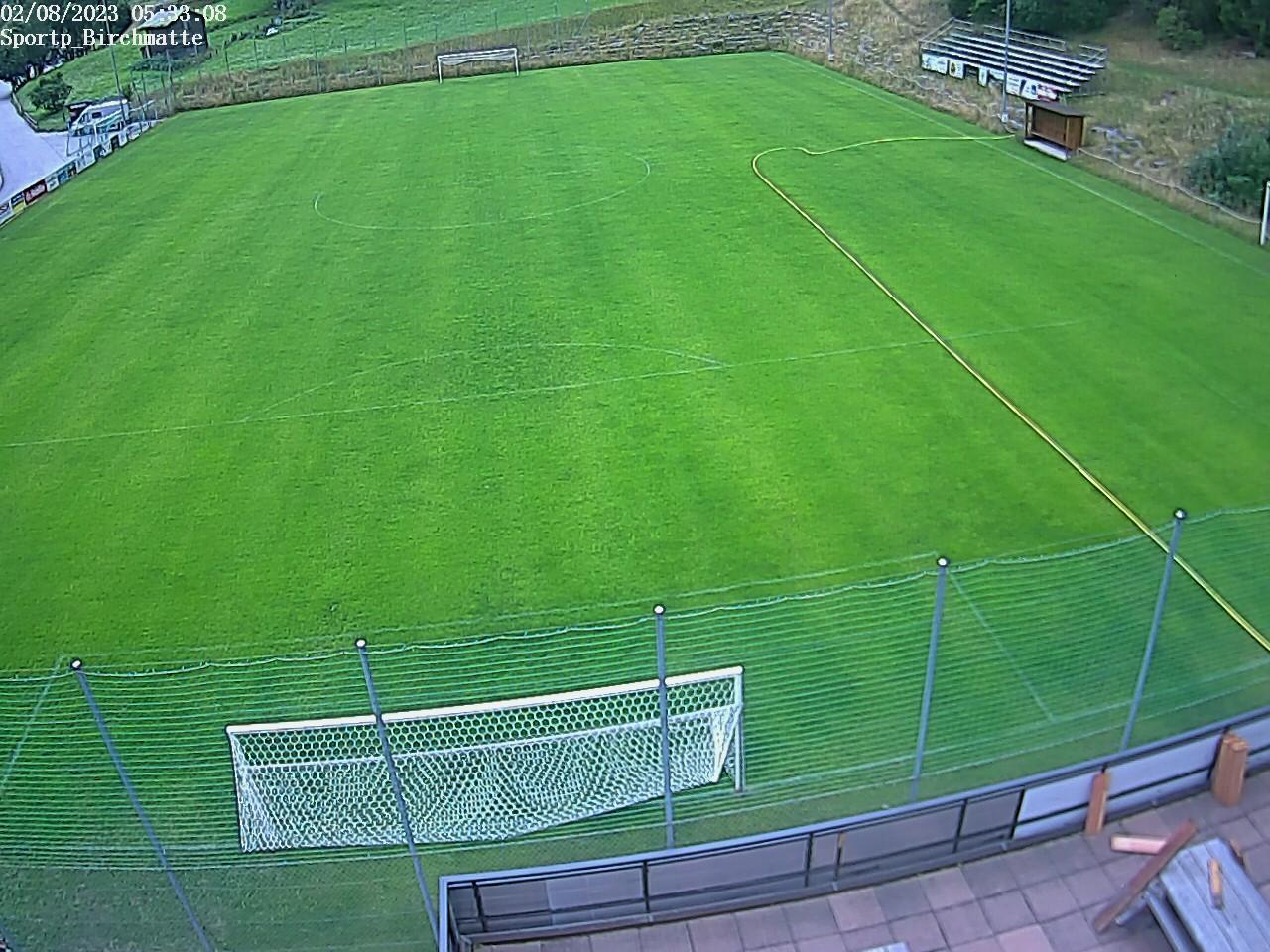Fussballplatz St.Niklaus. Danke an den FC Zaniglas (www.fczaniglas.ch)